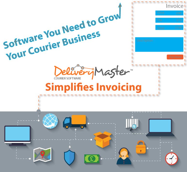Invoices and Courier Dispatch Software