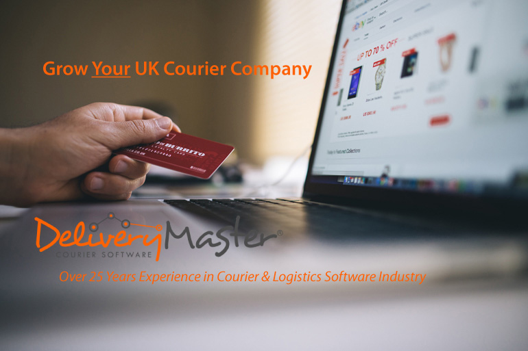 working macbook laptop keyboard grow your UK courier company