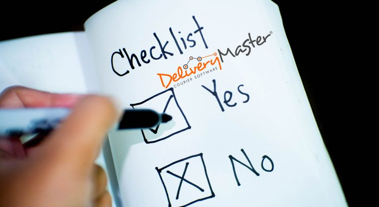 business checklist with yes no boxes ticked