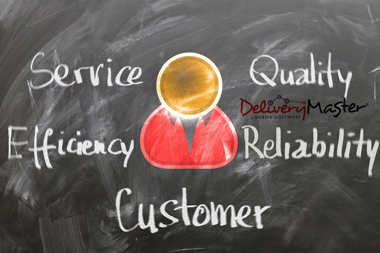 quality service customer expectation from a courier software hosted service