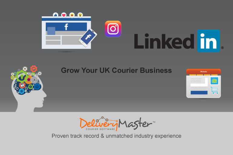 Grow Your UK Courier Business Using Social Media