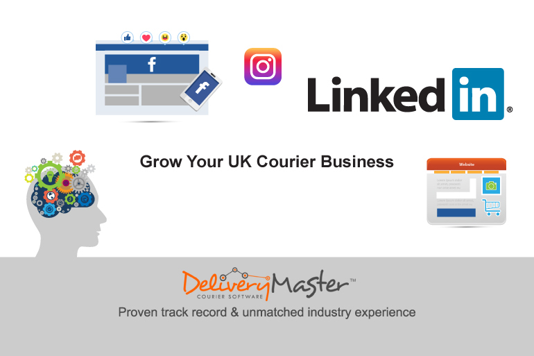 Grow Your UK based Courier Business Using Social Media