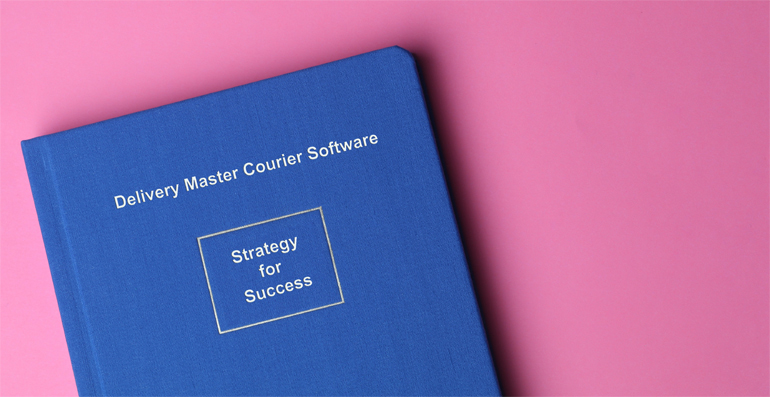 book cover on pink colour background