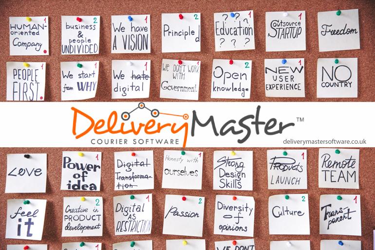 marketing ideas on sticky notes